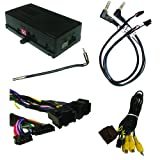 SOOGM-16V Radio Replacement to retain OnStar, Warning Chimes, Steering Wheel Controls and ADD a Video Switcher for select GM LAN 29-Bit vehicles with Bose Amplified & Non-Amplified Systems (2006-2014)