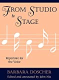 From Studio to Stage