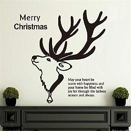 wukongsun Real Feliz Año Nuevo Feliz Navidad Vinilo Pared ...