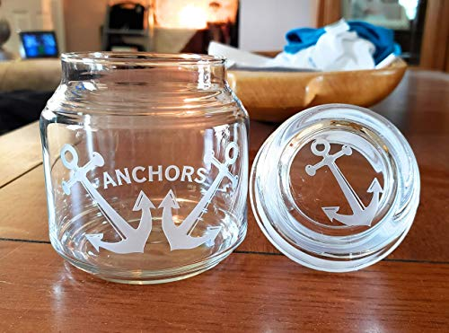 (Personalized - 16oz Glass Candle Jar with Dome Lid)