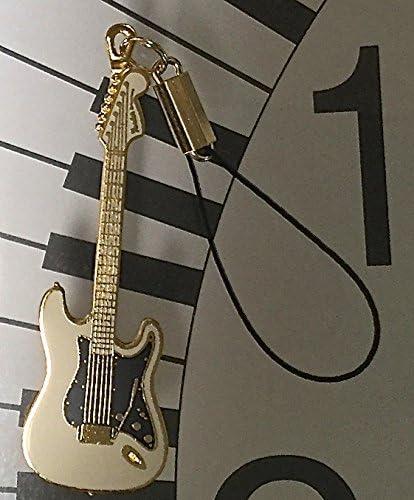 フェンダー ストラトキャスター 携帯ストラップ Fender Stratocaster (白)