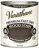 Varathane 269394 Premium Fast Dry Wood Stain, 32 oz, Weathered Gray