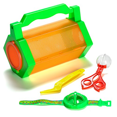 Prextex Explore Insect Bug Catcher With 5 Bug Catching Tools