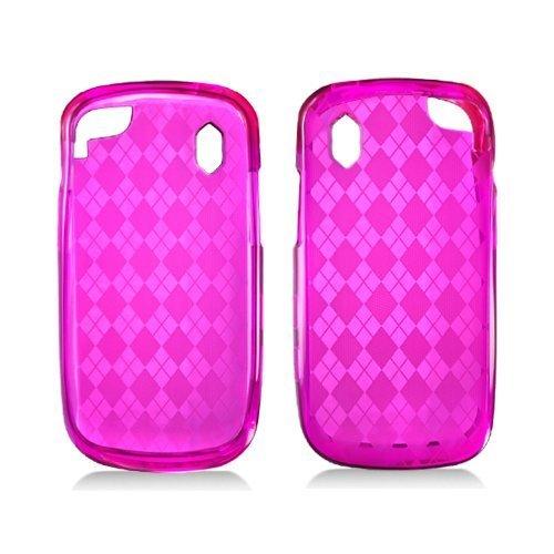 LF TPU Flexible Gel Case Cover, Stylus Pen & Wiper for Verizon Pantech 8992 Hotshot (TPU Pink)