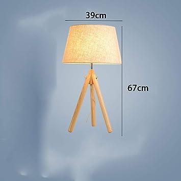 AAWPP Lámpara de Mesa de cabecera del Dormitorio nórdico ...