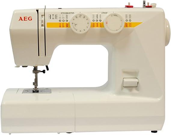 AEG NM 1715 - Máquina de Coser (Máquina de Coser automática ...