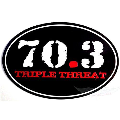 Automobile Car Magnet 70.3 Triple - Me Near Suits Triathlon