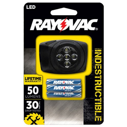 Rayovac DIYHL3AAA B Virtually Indestructible Headlight