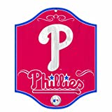 MLB Philadelphia Phillies 11-by-13 Wood Sign