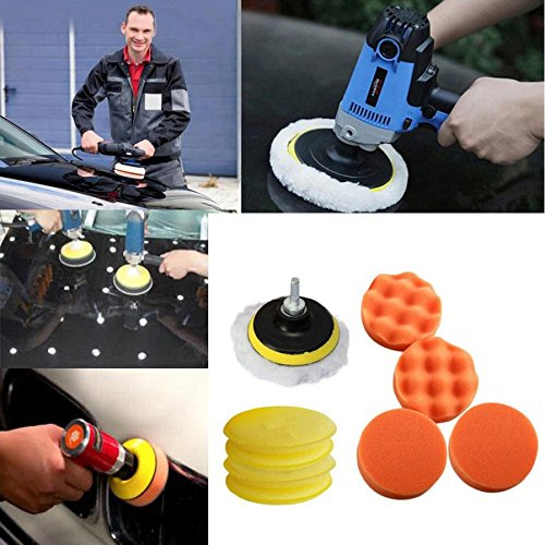 Wall of Dragon 11pcs/Set Sponges Waves Plate Compound Car Multicolor Polishing Tools Drill Adapter Dec 15
