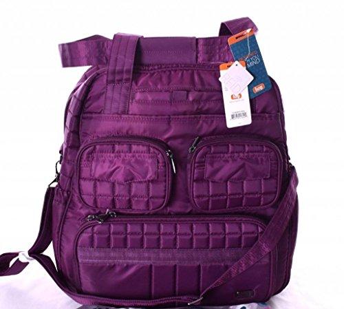 Lug Women's Puddle Jumper Overnight/Gym Duffel Bag, Berry Purple, One Size by Lug