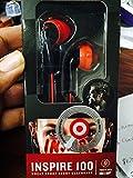 Yurbuds (CE) Focus 100 In-Ear Headphones, Red/Black