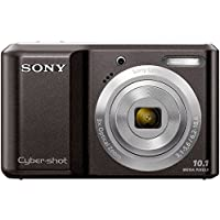 Sony Cyber-shot DSC-S2000/B 10.1MP 3x Optical Zoom 2.5 inch LCD Digital Camera (Black)