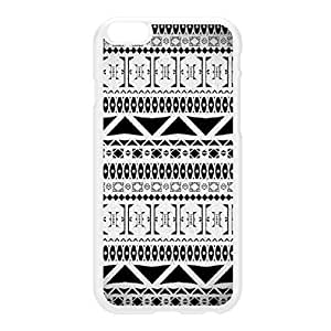 Aztec 7 White Hard Plastic Case for iphone 5s by DevilleArt + FREE Crystal Clear Screen Protector