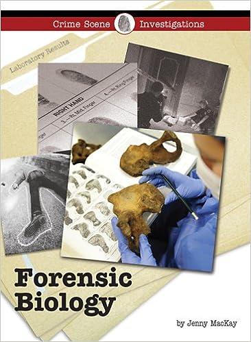 Amazon Com Forensic Biology Crime Scene Investigations 9781420501087 Mackay Jennifer Books