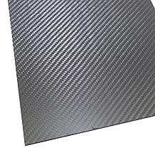SHINA 1Pc 2x200x300mm 3K 100% Carbon Fiber Plate Panel Sheet 2mm Thickness Matt Surface