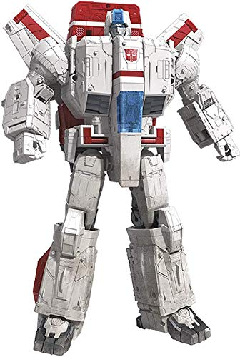 Transformers Toys Generations War for Cybertron Commander Wfc-S28 Jetfire Action Figure – Siege Chapter – Adults & Kids Ages 8 & Up, 11″