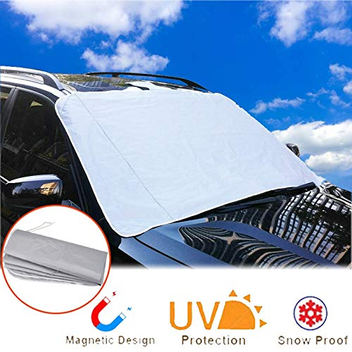 SaveStore Auto Snow Cover Car Windshield Windscreen Shade Sunshade Sun Visor Blind Front Window Screen Ice Frost Accessories