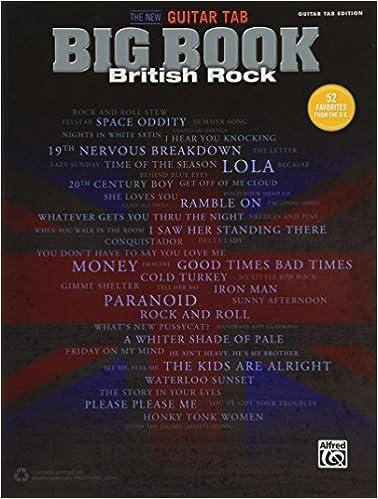 Amazon.com: The New Guitar Big Book of Hits -- British Rock: 52 ...