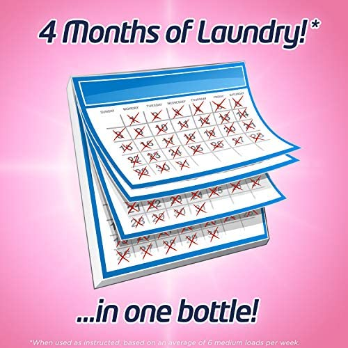 51ACsQ27LSL. AC - Purex Liquid Laundry Detergent, Baby Soft, Hypoallergenic, 2X Concentrated, 2 Pack, 220 Total Loads