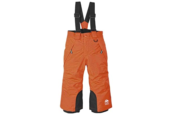 603920ee8 lupilu Boys  Snow Trousers - Orange - 12-18 Months  Amazon.co.uk ...