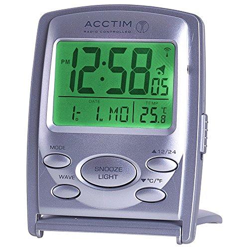 Acctim 71707 Vista MSF Radio Controlled Multi function LCD Travel Alarm...