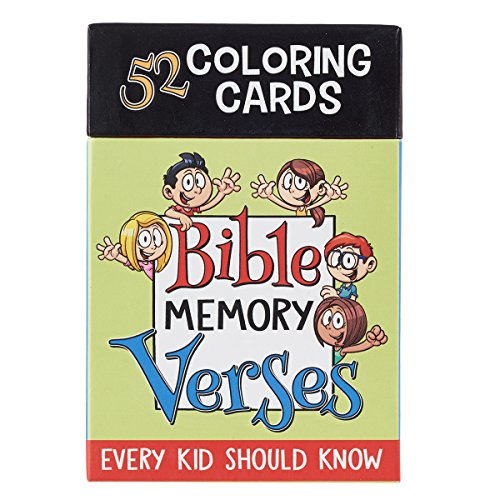 (Coloring Cards for Kids: Bible Memory Verses)