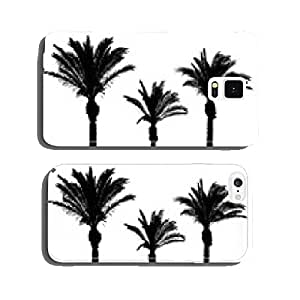 Palm Trees Vector Set cell phone cover case Samsung S6