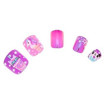 Amazon.com: Claires s Sweetimals - Juego de uñas ...