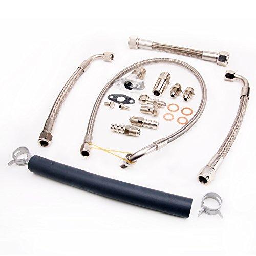 Turbo Oil / Water line Kit For Dodge Neon SRT-4 PT Stock TD04LR Turbo