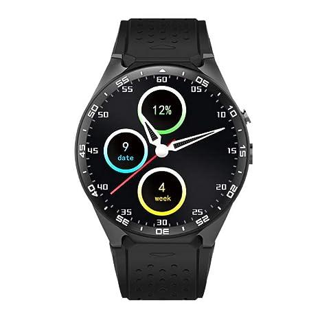 Amazon.com: HAUNHA Android 5.1 1.39 Screen 3G Smartwatch ...