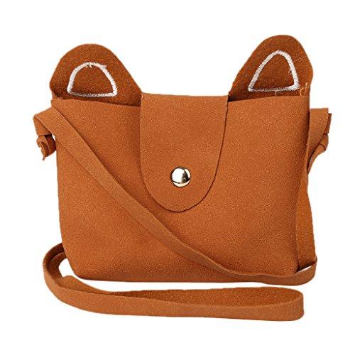 Lovely Gift Children Cosmetic Fashion Cats Wanfor Women Bag Phone Money Crossbody Store Small Pocket Girls Orange for Kids Day SpnIT