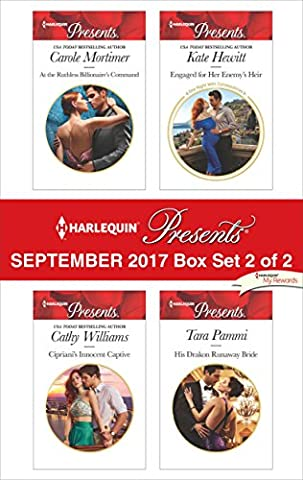 Harlequin Presents September 2017 - Box Set 2 of 2: At the Ruthless Billionaire's Command\Cipriani's Innocent Captive\Engaged for Her Enemy's Heir\His Drakon Runaway (Books Harlequin)