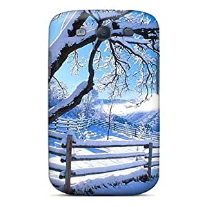 Durable Winter Scene Back Case/cover For Galaxy S3