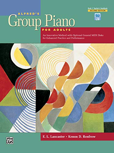 Alfred's Group Piano for Adults Teacher's Handbook,