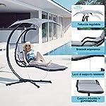 Outsunny-Poltrona-Sdraio-Relax-Chaise-Lounge-Lettino-Prendisole-con-Tettuccio-Giardino-Grigio-190–115–190cm