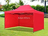 Gazebo Tent 10 x 15 feet / 3 x 4.5 meter with Side Cover - Portable Canopy Tent