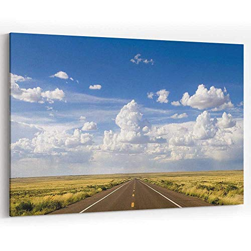 (Route 66 in Arizona Canvas Art Wall Dcor Painting Wall Art Picture Print on Canvas)