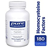 Pure Encapsulations – Homocysteine Factors – Hypoallergenic Supplement Helps Maintain Normal Homocysteine Levels and Cardiovascular Health* – 180 Capsules Review