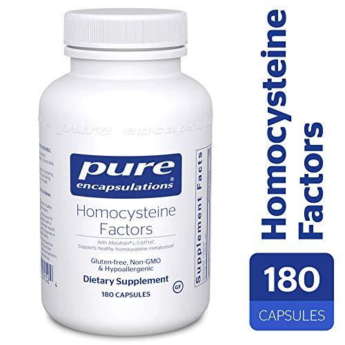 (Pure Encapsulations - Homocysteine Factors - Hypoallergenic Supplement Helps Maintain Normal Homocysteine Levels and Cardiovascular Health* - 180 Capsules)