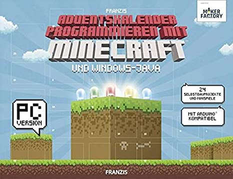 Weihnachtskalender Minecraft.Makerfactory Adventskalender Programmieren With Amazon Co Uk
