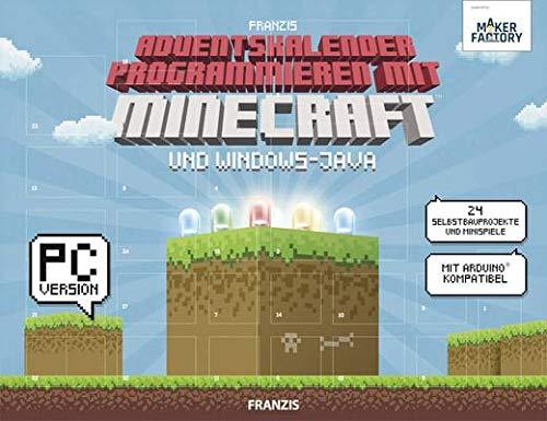 MAKERFACTORY Adventskalender Programmieren mit Minecraft und Windows-Java 4019631150257