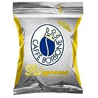 Caffè Borbone Capsule Respresso Miscela Oro - Confezione da 100 Pezzi - Compatibili Nespresso