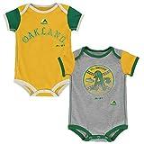 Oakland Athletics Vintage Baby / Infant Go Team 2 Piece Creeper Set