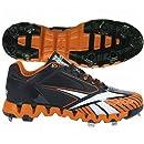 Reebok Men's Zig Cooperstown Quag 2.0 Shoe,Black/Orange/Black,16 M US