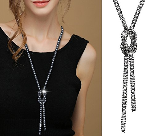 Suyi Crystal Necklace All Match Clothing