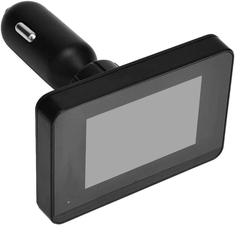 Pantalla LCD Coche TPMS Sistema de monitoreo de presi/ón de neum/áticos Toma de encendedor de cigarrillos con 4 sensores externos para la actualizaci/ón de autom/óviles