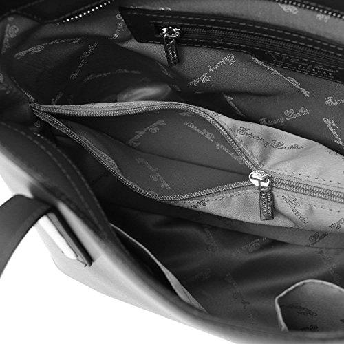 De Mujer Marrón Tuscany Unique Leather Taille Piel Al Hombro Para Bolso q7xfwIxOB