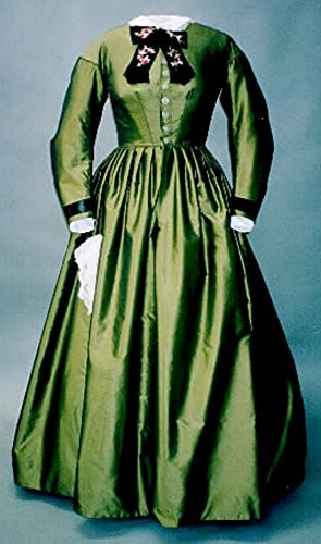 - Ladies Day Dress Gown Civil War Era Reproduction Early 1860's Sewing Pattern #111 (Pattern Only)
