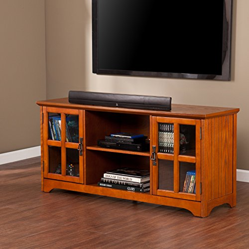 037732099071 - Remington Mission Oak Media Stand carousel main 9